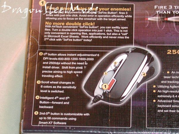 A4Tech X-750F Laser Gaming Mouse Review | DragonSteelMods ...