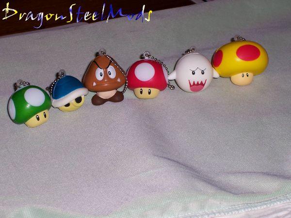 Squishy Duck Super Mario Maker 4 : Squishy Super Mario Keychains from GizGeek DragonSteelMods
