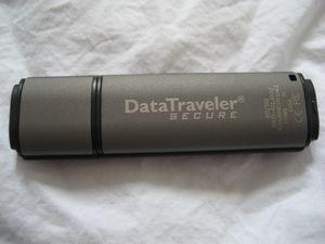 Kingston DataTraveler Secure 2GB USB Drive
