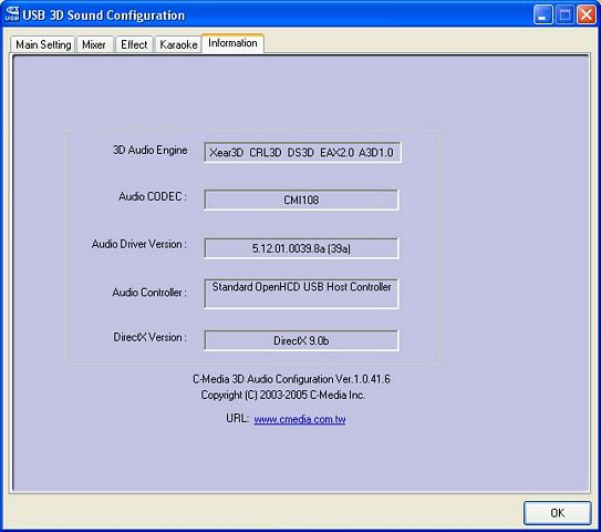 C-Media 3d Audio Driver Xp
