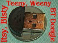 World's slimmest USB Bluetooth Dongle