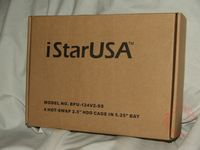 iStar BPU-124V2-SS Hot-Swap Backplane RAID Cage