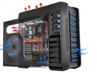 Thermaltake Chaser A71 Gaming Case combines maximum performance, cooling and compatibility in a full-tower package