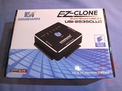 Review of Kingwin EZ-Clone USI-2535CLU3 One Click Clone Adapter for Hard Drives