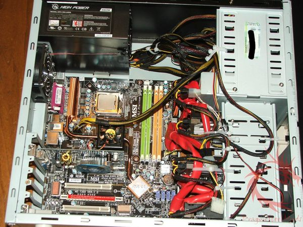 Msi p6n sli motherboard based on nvidia nforce 650i sli chipset.