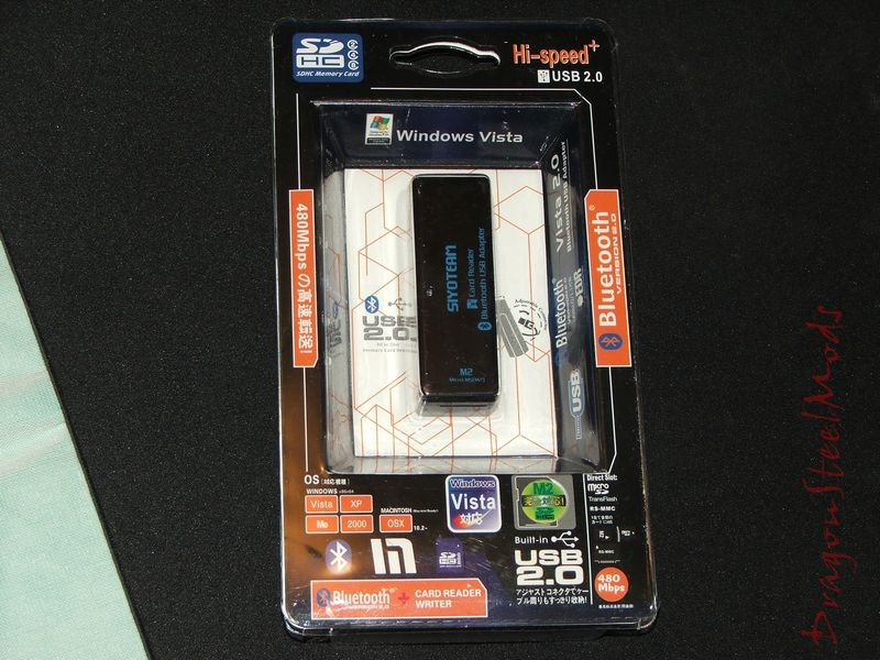 Multi-Card Reader with Bluetooth Dongle Review | DragonSteelMods