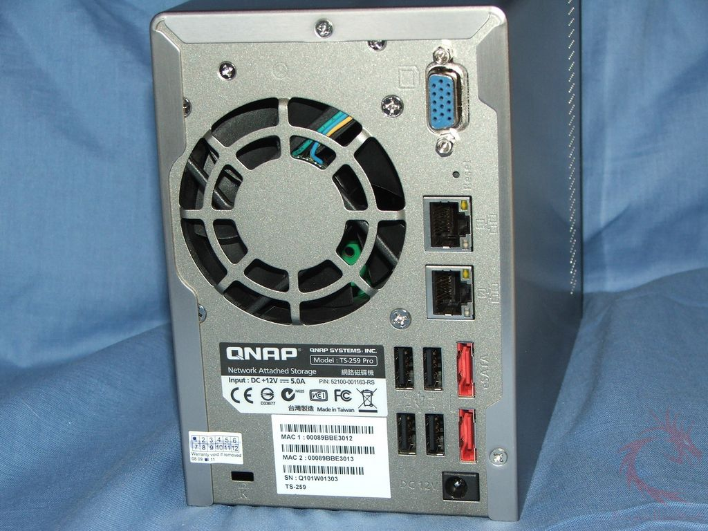 QNAP TS-259 Pro Turbo NAS Review | DragonSteelMods