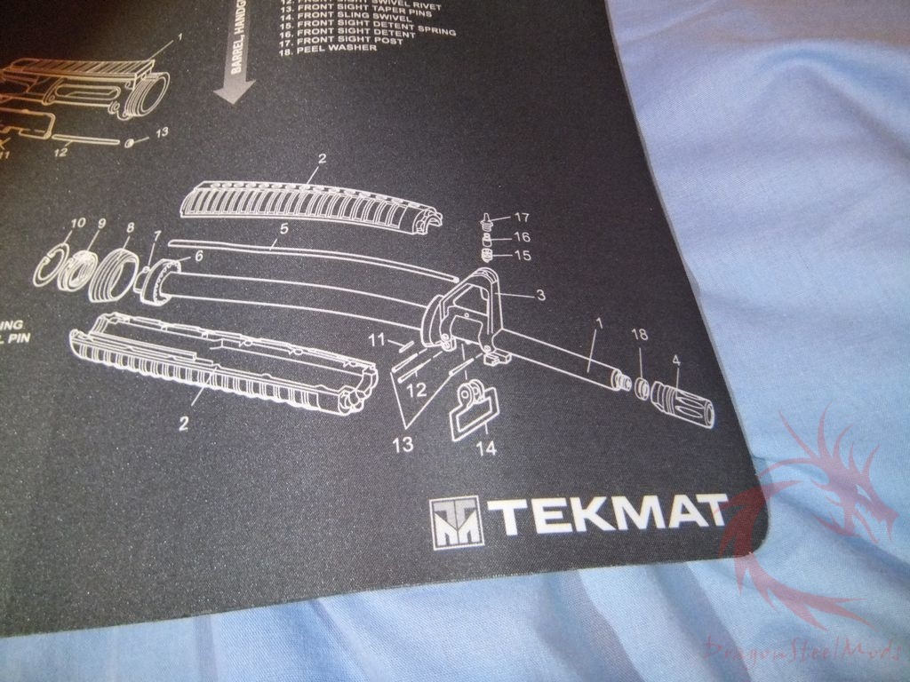 Tekmat Ar 15 Bench Mat Review Dragonsteelmods