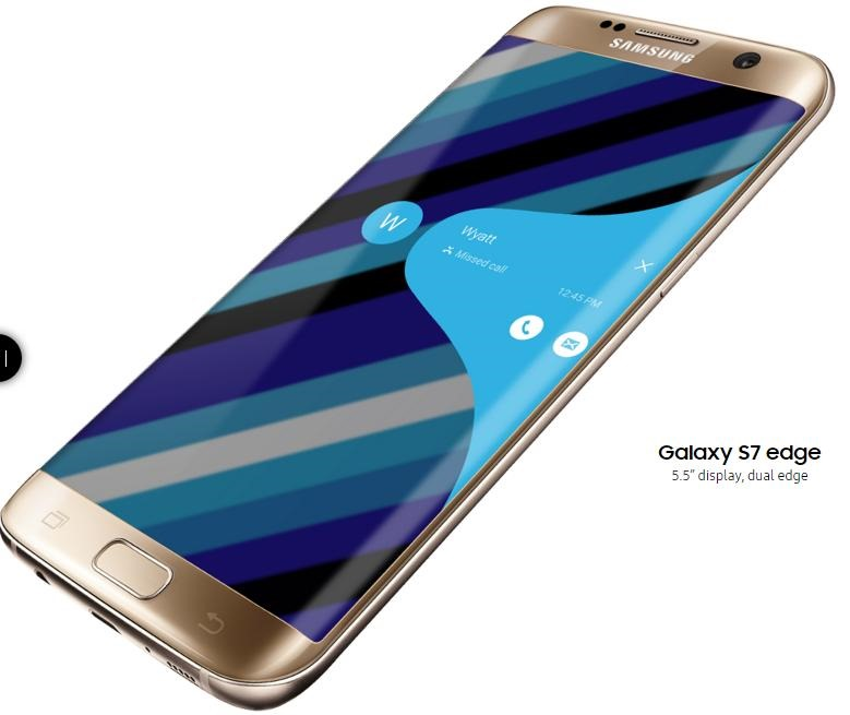 Samsung Galaxy S6 Edge, Curved-Screen Version