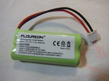 Review of Floureon 2 Pack Rechargeable Cordless Phone Batteries